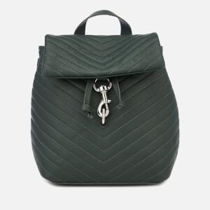 Rebecca Minkoff Womens Edie Flap Backpack - Pine