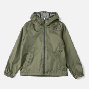 The North Face Kids Zipline Rain Jacket - New Taupe Green