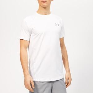 Under Armour Mens MK-1 Short Sleeve T-Shirt - White/Steel