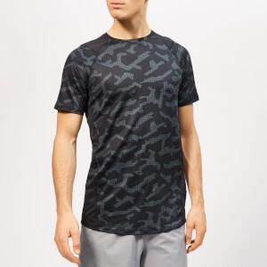 Under Armour Mens MK-1 Short Sleeve Printed T-Shirt - Black