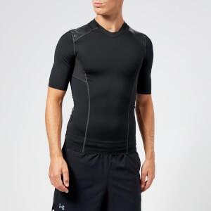 Under Armour Mens Perpetual Superbase Half Sleeve Top - Black