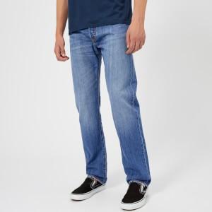 Levis Mens 501 Original Fit Jeans - Rocky Road Cool