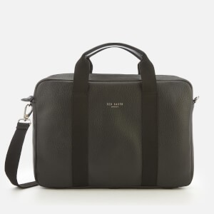 Ted Baker Mens Importa Leather Document Bag - Black