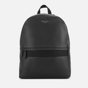 Ted Baker Mens Rickrak Leather Backpack - Black