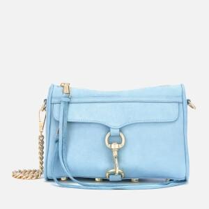 Rebecca Minkoff Womens Mini M.A.C. Bag - Sky Blue