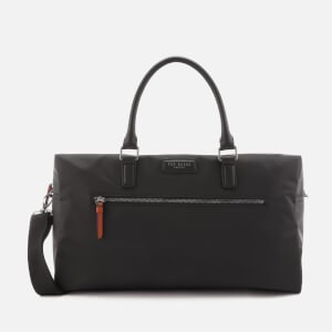 Ted Baker Mens Rokket Satin Nylon Holdall Bag - Black