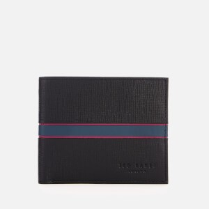 Ted Baker Mens Musta Bifold Wallet - Black