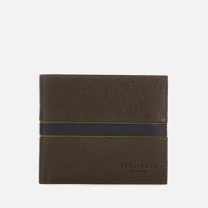 Ted Baker Mens Musta Bifold Wallet - Chocolate
