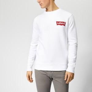 Levis Mens Modern Sweatshirt - White