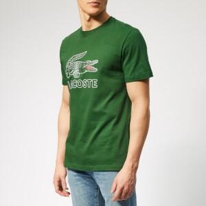 Lacoste Mens Large Logo T-Shirt - Green