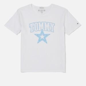 Tommy Hilfiger Girls Essential Tommy Star T-Shirt - Bright White