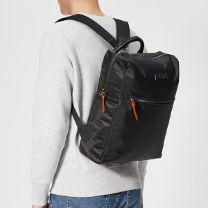 Ted Baker Mens Canddle Satin Nylon Backpack - Black