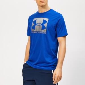 Under Armour Mens Boxed Sportstyle Short Sleeve T-Shirt - Royal