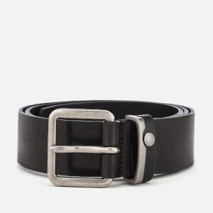 Ted Baker Mens Katchup Leather Belt - Black