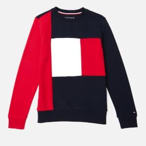 Tommy Hilfiger Boys Colorblock Sweatshirt - Lychee