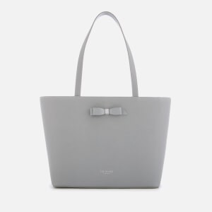 Ted Baker Womens Jjesica Bow Detail Shopper Bag - Grey