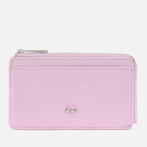 Ted Baker Womens Lotta Bow Detail Card Holder - Light Purple