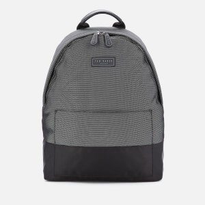 Ted Baker Mens Karat Nylon Backpack - Black