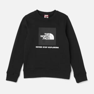 The North Face Kids Box Crew Neck Sweatshirt - TNF Black
