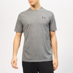 Under Armour Mens Siro Shorts Sleeve T-Shirt - Black/Heather Twist