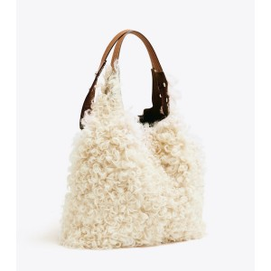 RORY SHEARLING TOTE
