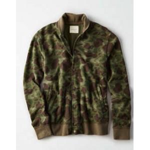 AE Camo Fleece Jacket