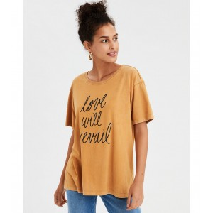 AE Oversized Washed Graphic Tee