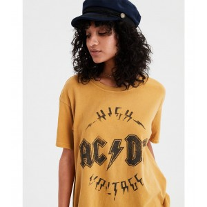 AE ACDC Graphic Band Tee