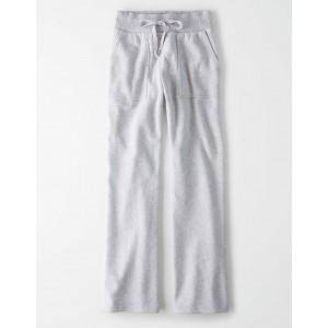 AE High-Waisted Fleece Flare Sweatpant