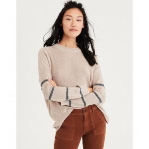 AE Arm Stripe Pullover Sweater