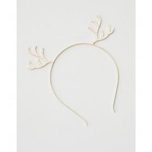 AEO Sparkly Reindeer Headband