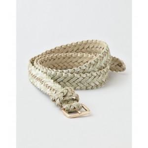 AEO Metallic Braided Belt