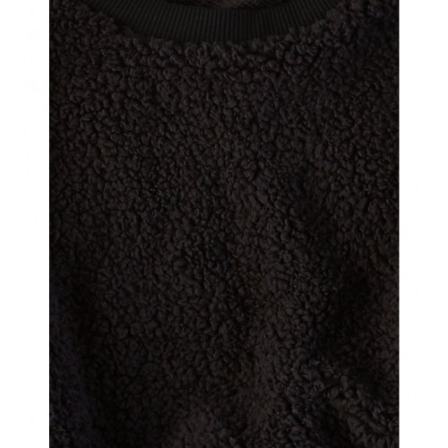 아메리칸이글 AE Fuzzy Sherpa Crewneck Sweatshirt