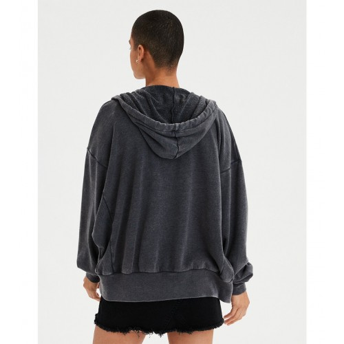 아메리칸이글 AE Ahhmazingly Soft Oversized Full Zip Hoodie