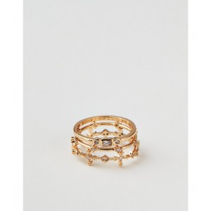 AEO Gold Rings 3-Pack