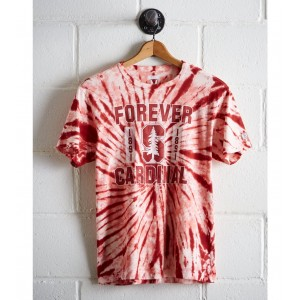 Tailgate Men's Stanford Tie-Dye T-Shirt