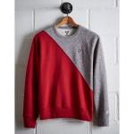 Tailgate Men's OSU Diagonal Colorblock Sweatshirt