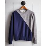 Tailgate Men's UCLA Diagonal Colorblock Sweatshirt