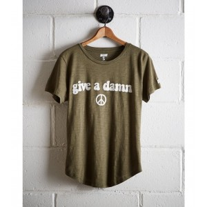 Tailgate Women's Give A Damn T-Shirt