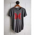 Tailgate Women's Maryland Foil Star T-Shirt