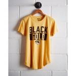 Tailgate Women's Missouri Black & Gold T-Shirt