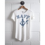 Tailgate Women's Navy T-Shirt
