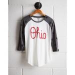 Tailgate Women's OSU Star Print Baseball Shirt