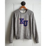 Tailgate Women's Kansas Boyfriend Sweatshirt