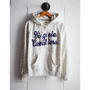 Tailgate Women's UVA Space Dye Hoodie
