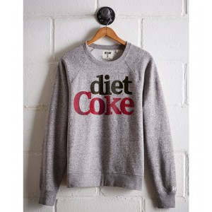 Tailgate Women's Diet Coke Fleece Sweatshirt