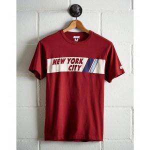 Tailgate Men's NYC Chest Stripe T-Shirt