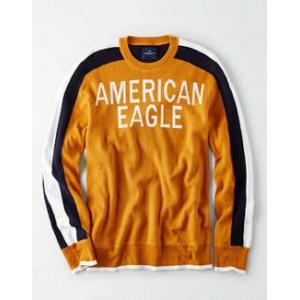 AE Retro Athletic Crewneck Sweater