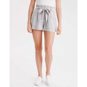 AE High-Waisted Paperbag Soft Short