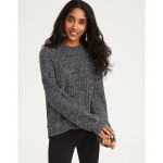 AE Mock Neck Pullover Sweater